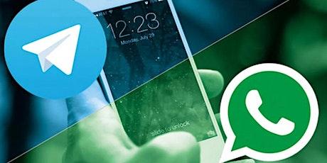 WhatsApp vs Telegram: ¿cuál es la mejor aplicación de mensajería? boletos