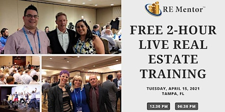 FREE 2-Hour Live Real Estate Training - TAMPA, FL tickets