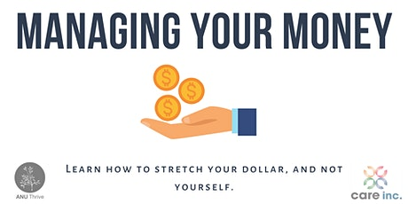 Managing Your Money webinar tickets
