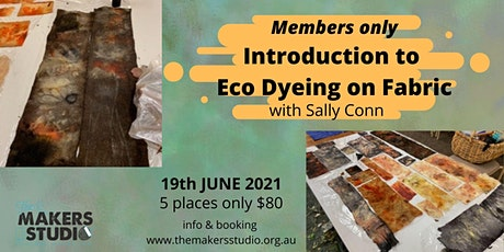 Introduction to Eco Printing on Fabric with Sally Conn tickets