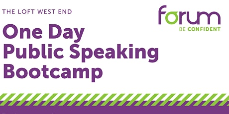 Public Speaking Bootcamp tickets