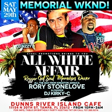 Reggae Got Soul: The All White Affair Music By Rory Stonelove & DJ Kirky C tickets