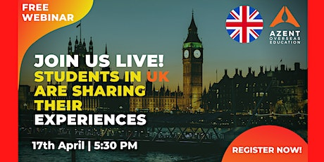 STUDENTS IN UK ARE SHARING THEIR EXPERIENCES tickets