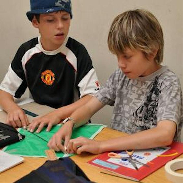 School Holiday - Kite Making image