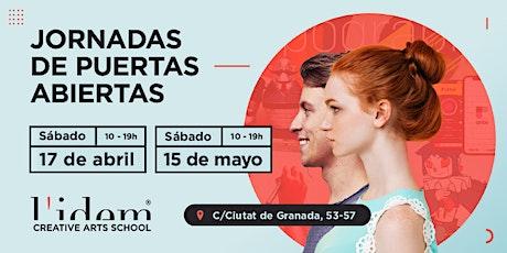 L'Idem - Jornada de Puertas Abiertas: 15 de mayo entradas