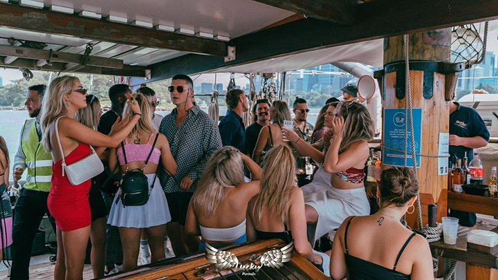 "Lucky Presents // Ibiza Tales #2 ""Pirate Ship Harbour Cruise"" image"