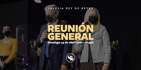 Reunión general - 25/04/21 - 11:45h tickets