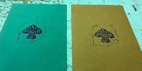 Relief Printmaking with MDF tickets