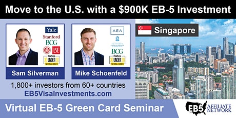 U.S. Green Card Virtual Seminar – Singapore, Singapore tickets