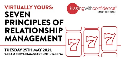 Virtually Yours: Seven Principles of Relationship Management tickets