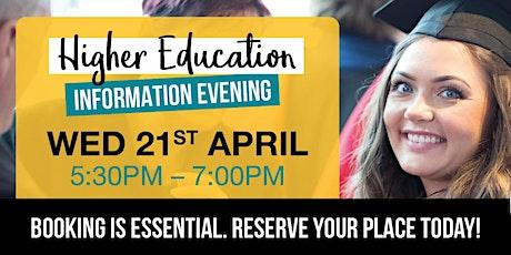 Stockton Riverside College's Higher Education Information Evening tickets