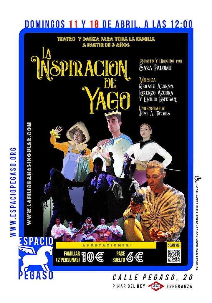 Imagen de TEATRO DANZA INFANTIL.  LA INSPIRACION DE YAGO