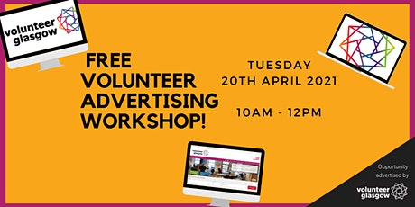 Volunteer Advertising Workshop Tickets