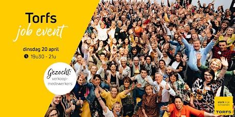 Schoenen Torfs online jobevent -  Let's meet! tickets