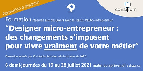Designer micro-entrepreneur : des changements s'imposent ! billets