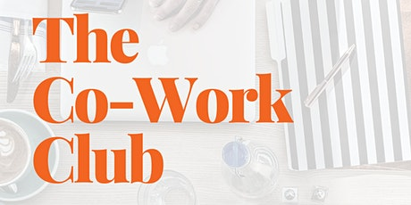 Co-Work Club - Virtual co-working session tickets
