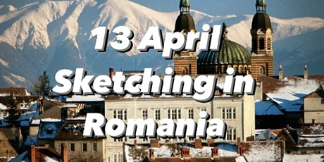 Sketching Romania in Watercolours (Travel Series) tickets