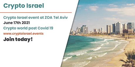 Crypto Israel event tickets
