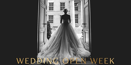 Wedding Open Week tickets