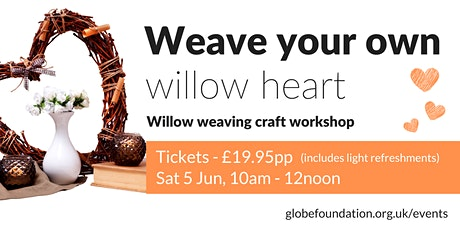 Weave Your Own Willow Heart tickets