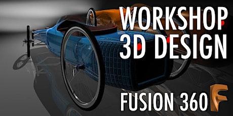 LenteviBes (12+): leren ontwerpen met Fusion 360 (gratis) tickets