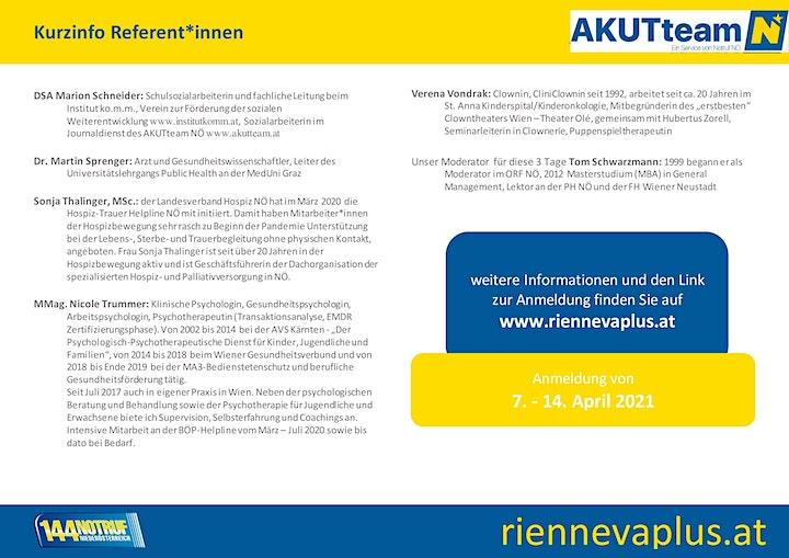 Plattformtagung 2021 Krisenintervention/Akutbetreuung/SvE: Bild