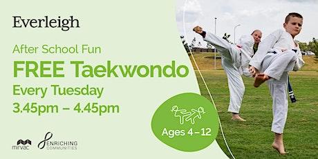 FREE  Greenbank Taekwondo tickets