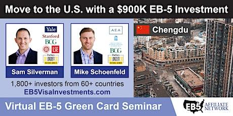 U.S. Green Card Virtual Seminar – Chengdu, China tickets