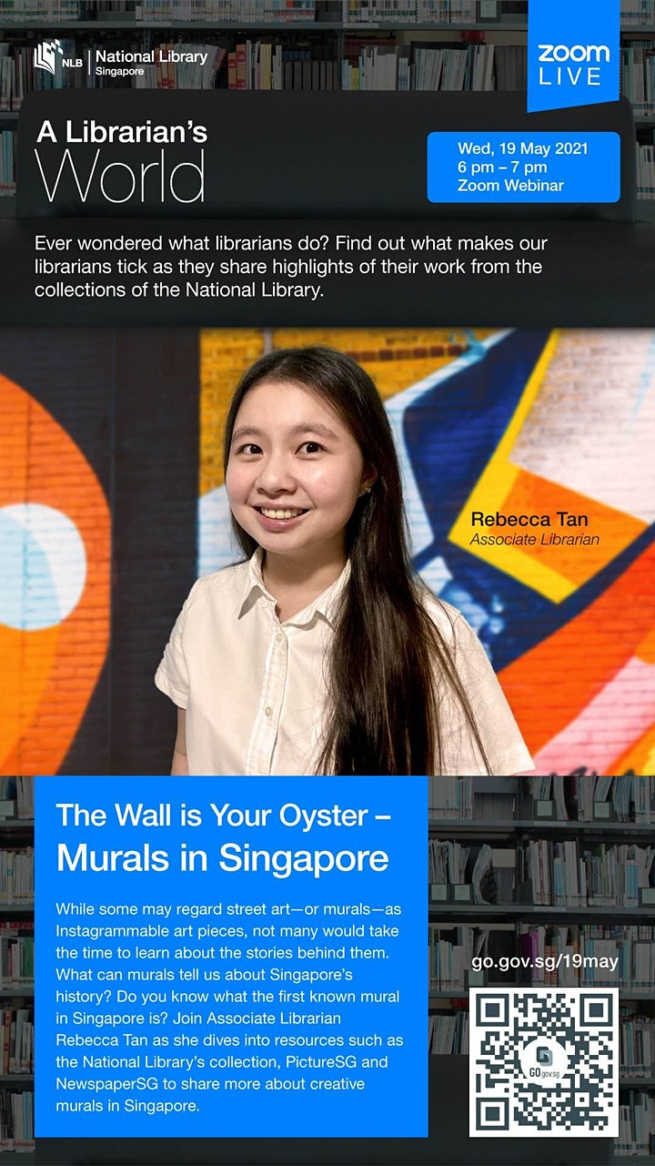 A Librarian's World: The Wall is Your Oyster – Murals in Singapore image