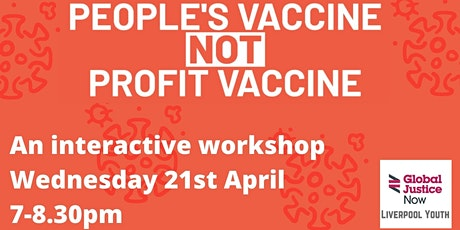 Vaccines For All workshop - Liverpool tickets