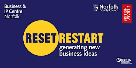 Reset. Restart: Workshop - Generating new business ideas tickets