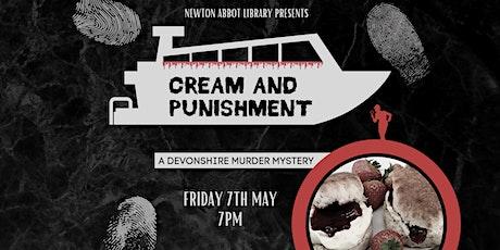 Cream & Punishment - A Virtual Devonshire Murder Mystery tickets