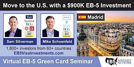 U.S. Green Card Virtual Seminar – Madrid, Spain tickets