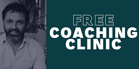 Coaching Clinic with Kevin Mascarenhas tickets