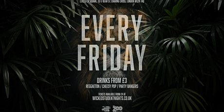 Zoo Bar Fridays // Student Drink Deals // IS BACK tickets