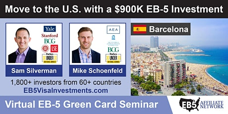 U.S. Green Card Virtual Seminar – Barcelona, Spain tickets