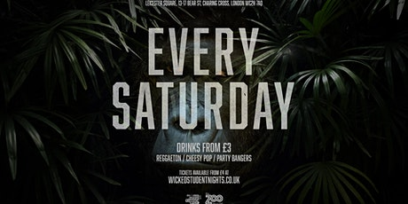 Zoo Bar Saturdays // Student Drink Deals // IS BACK // SOLD OUT tickets
