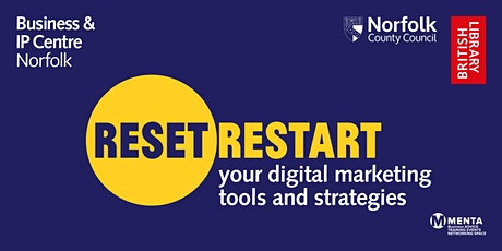 Reset. Restart: Workshop - Digital marketing tools and strategies tickets