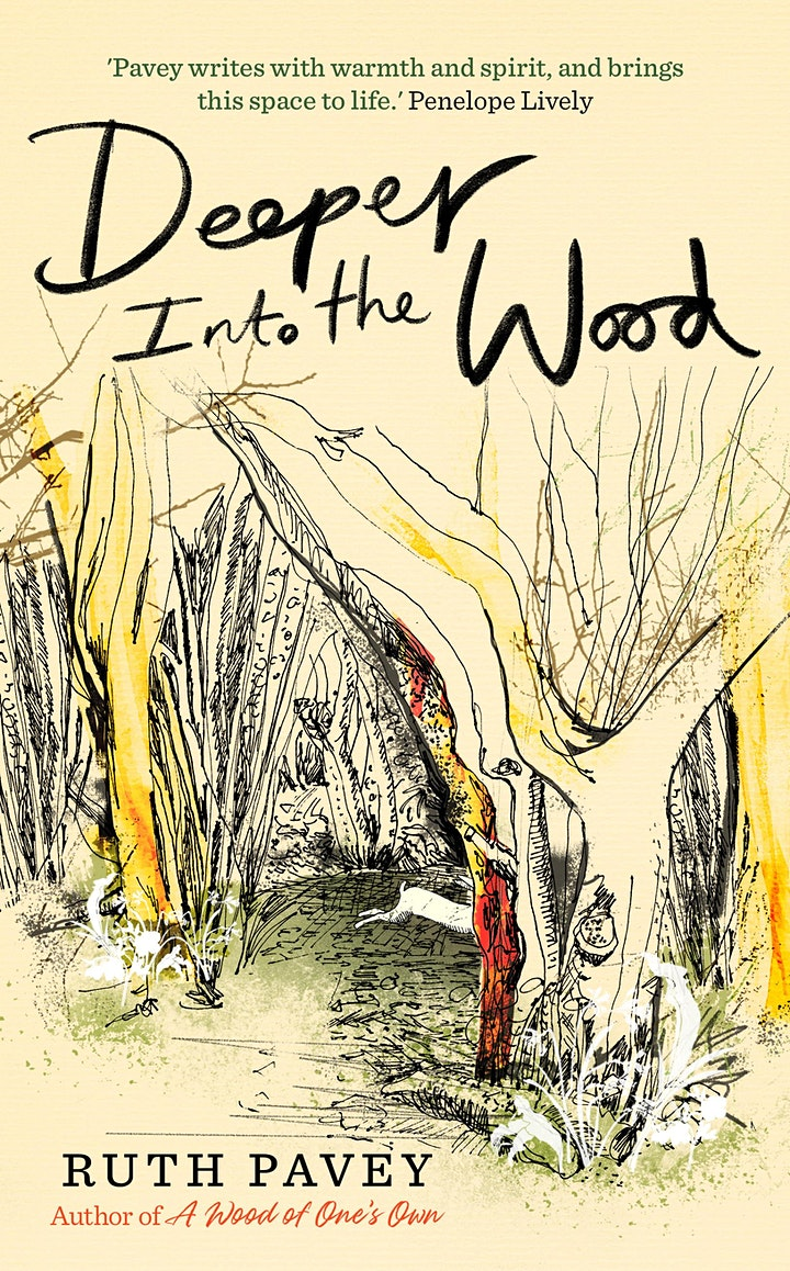 An evening with Ruth Pavey discussing her book 'Deeper Into The Wood' image