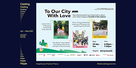 To Our City, With Love (Loveable Singapore Project Series Part 3) tickets
