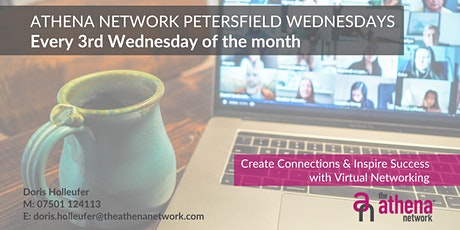 The Athena Network: Petersfield Wednesday - Guest Speaker Charlotte Stanley tickets