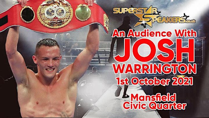 An Evening with Boxing Superstar Josh Warrington image