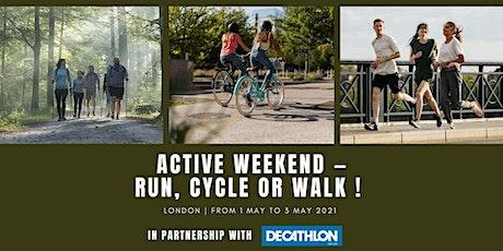 Active weekend: Run & walk & ride - Fundraiser for a new community garden tickets