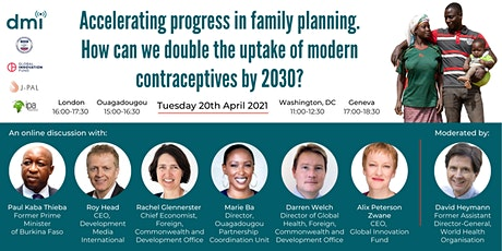Accelerating progress in family planning tickets