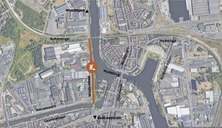 Afbeelding van Online infomoment - Heraanleg Wiedauwkaai in Gent (omwonenden)