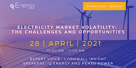 Electricity Market Volatility: The Challenges and Opportunities tickets