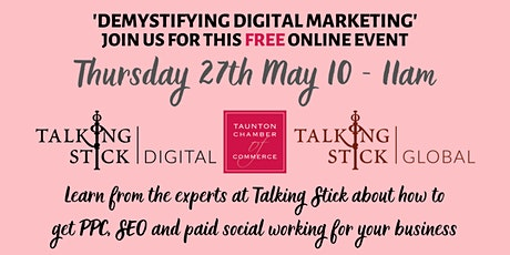 'Demystifying Digital Marketing - PPC, SEO & Paid Social tickets