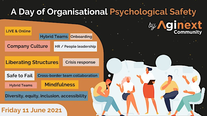 A Day of Organisational Psychological Safety by Aginext (LIVE) image