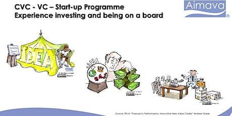 Start-up-Investor-CVC Program - Engaging Eight Part Real Case tickets