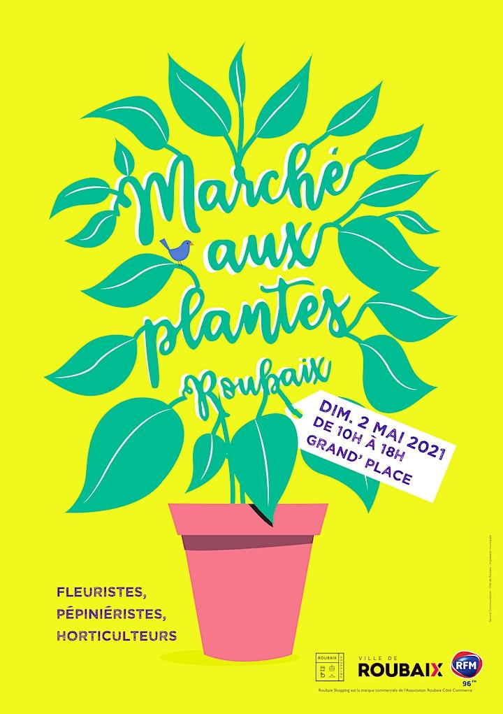Image pour Marché aux plantes de Roubaix 2021